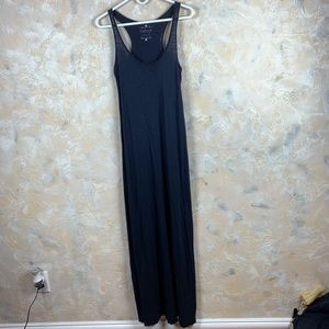 Velvet Graham & Spencer Navy Vintage Slub Dress